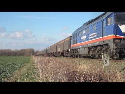 Die Ludmilla 232 103-2 der Raildox im Einsatz bei der Wismut-Werkbahn