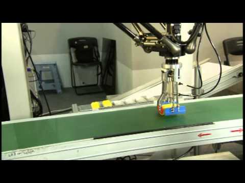 Conveyor Pick-and-Place Robot for Sorting/Packaging  @ TAIROS 2014