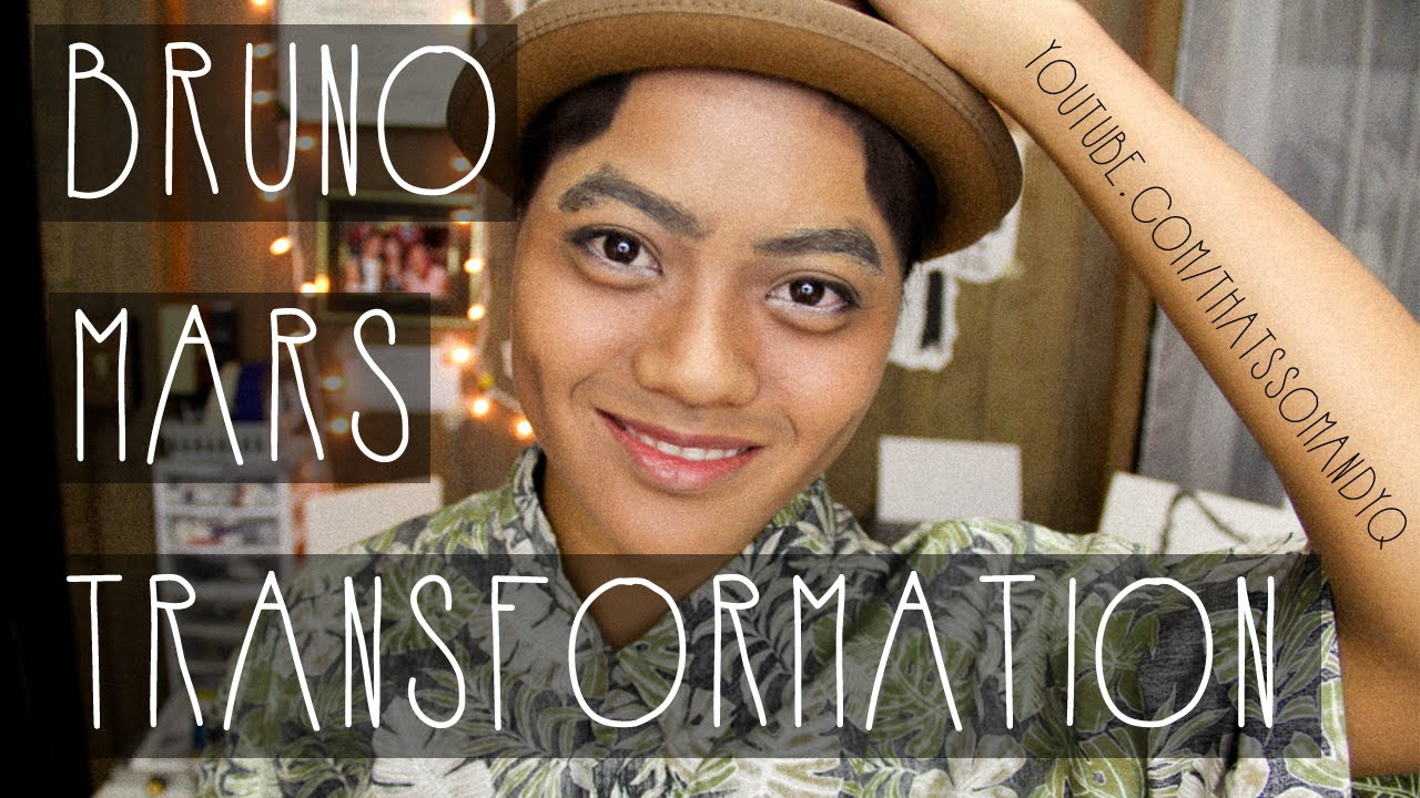 bruno mars transformation tutorial youtube. Black Bedroom Furniture Sets. Home Design Ideas