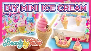 EDIBLE MINI DIY FOOD! | Kracie Popin' Cookin Ice Cream Shop | Beauty By Tellie