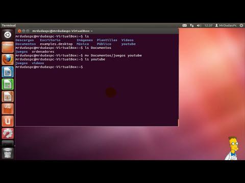 Comandos basicos Linux Ubuntu 12.04