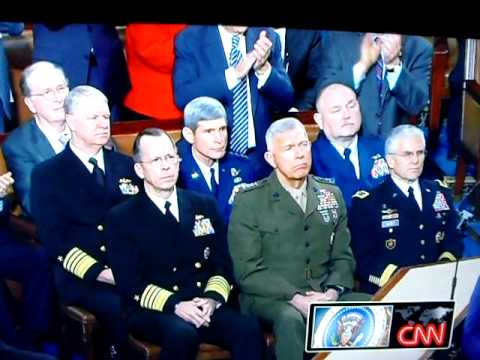 Obama's State of the Union Address - Gays in the Military - Lol