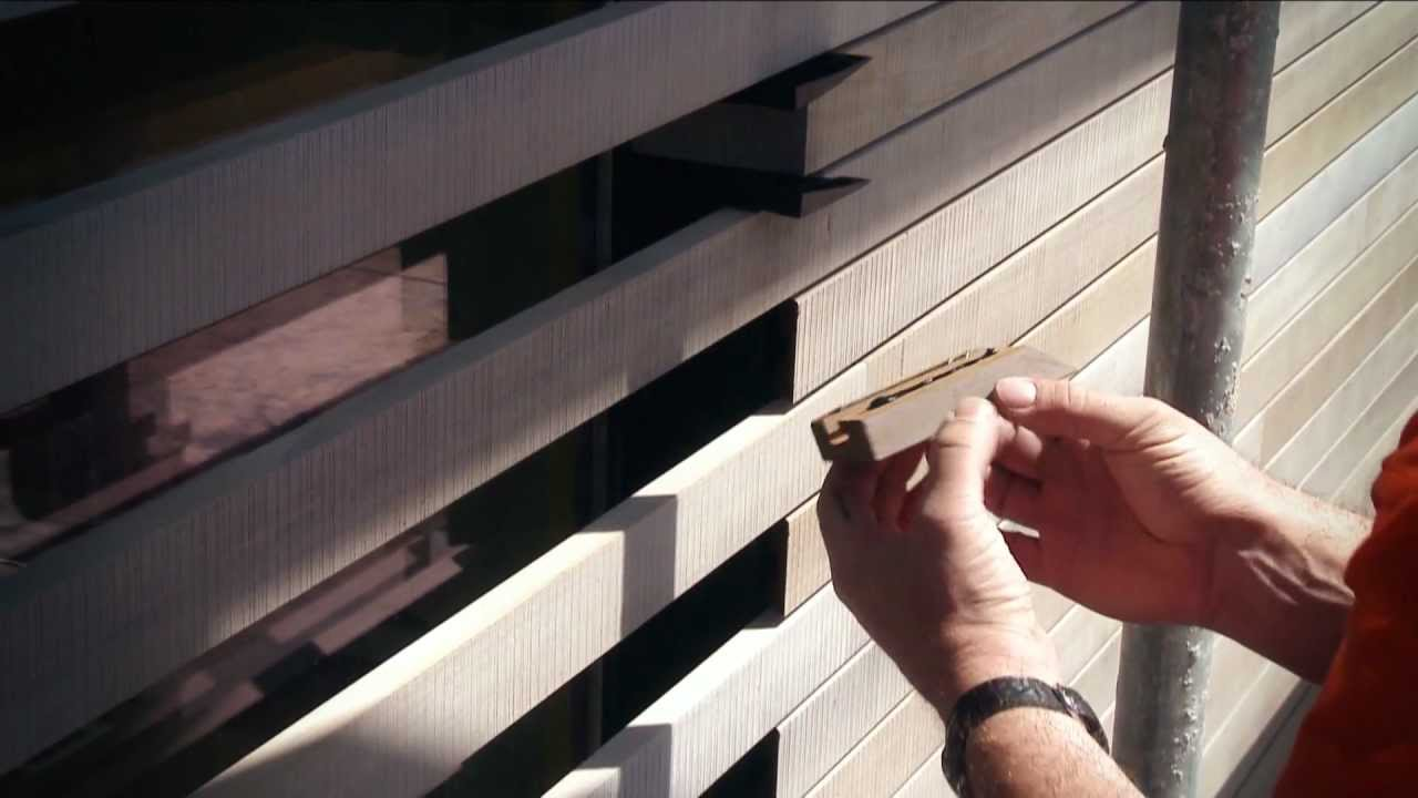 Sichtschutzzaun Holz Befestigung ~   Ihr neues System für Fassaden, Wände und Decken in Holz  YouTube
