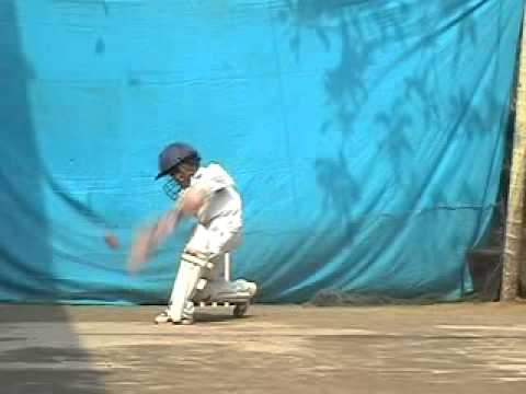 Young Little Cricketer Krishna Narayan - Video # 6 video