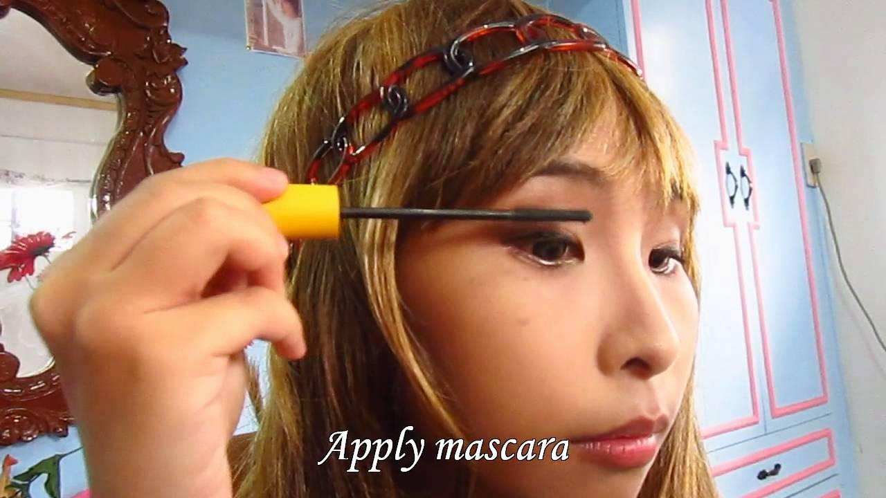 tutorial  makeup natural  Japanese Makeup (Natural Tutorial Look) YouTube japanese  Gyaru