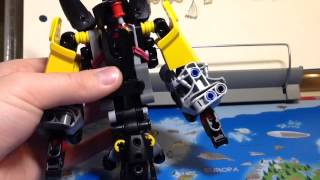 [How-to]Lego Bionicle MOC:Seltron(RUS)