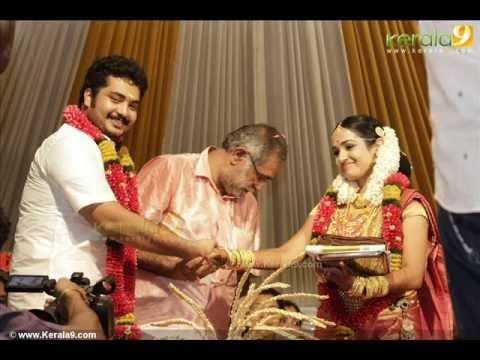 Malayalam Actor Vinu Mohan And Vidya Wedding video