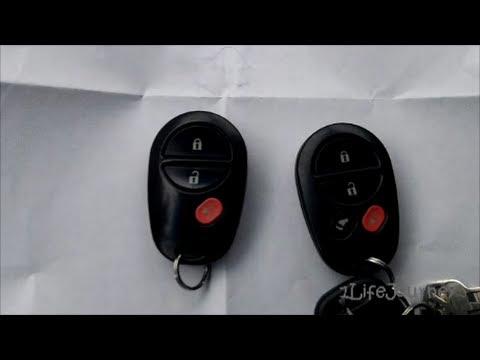 2004 Toyota Sienna Door Remote FOB Programming
