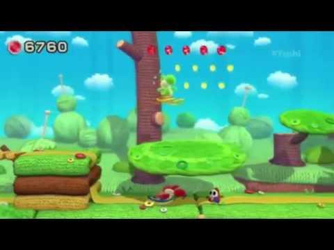 Yoshi Wooly World Gameplay Walkthrough E3 2015 Nintendo Press Conference HD