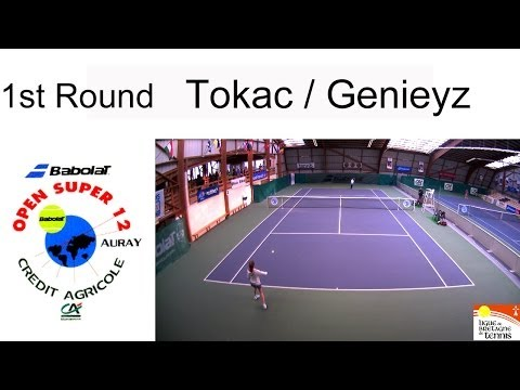 Tokac (TUR) - Genieyz (FRA) - Open Super 12 Auray Tennis- Girls Single 1st Round (Court 3)