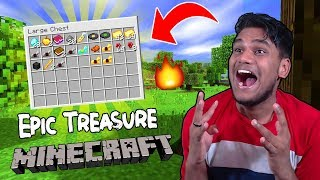 My First Epic Treasure Adventure in Minecraft.......