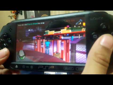 Gta vice city stories psp funny movenents