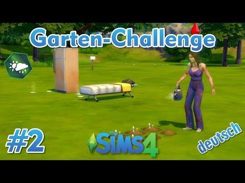 Sims 4 - Garten-Challenge - Rags-to-Riches #2 - Lisa pflanzt die ersten Pflanzen