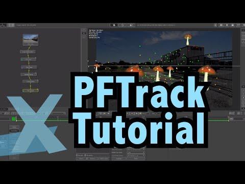 PFTrack Tutorial - 3d Camera Tracking