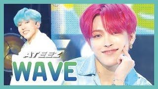 [HOT] ATEEZ - WAVE, 에이티즈 - WAVE  Show Music core 20190622