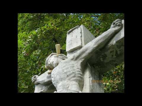Brutális beavatkozás egy keresztény műalkotásba Bujákon - 20019 09 18