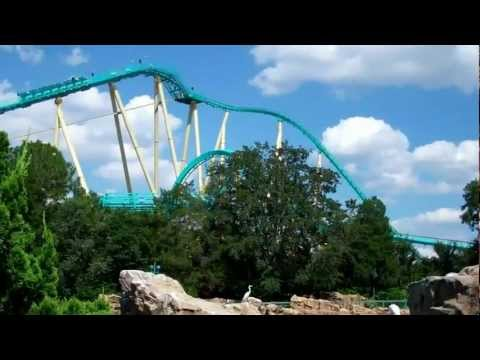 SeaWorld Orlando Rides and Attractions 2012 HD