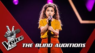 Jill - 'Porselein' | Blind Auditions | The Voice Kids | VTM