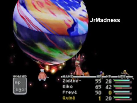 Final Fantasy IX - Level One Party Against Ozma
