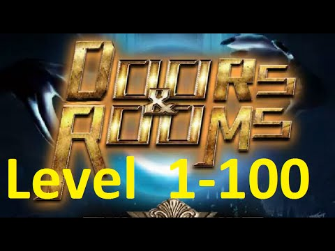 Doors and Rooms -  Escape hundred doors - 100 тайных комнат - All Levels - Walkthrough (1-1 to 25-4)