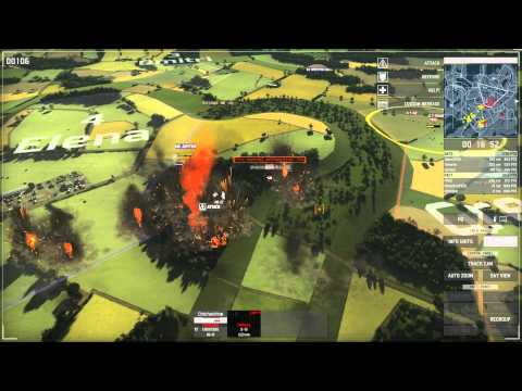 Wargame: European Escalation 3v3 HD Gameplay (Full Match)