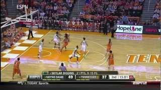 The ULTIMATE Skylar Diggins Highlight Tape