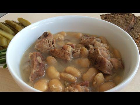 Фасоль с мясом ( Лобио)