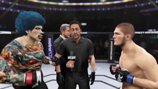 Deadly Clown vs. Khabib (EA Sports UFC 2) - CPU vs. CPU