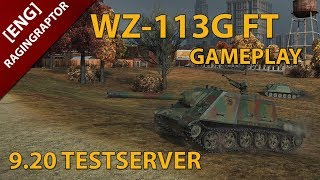 [ENG] World of Tanks: WZ-113G FT GAMEPLAY, NEW CHINESE T10 TANKDESTROYER