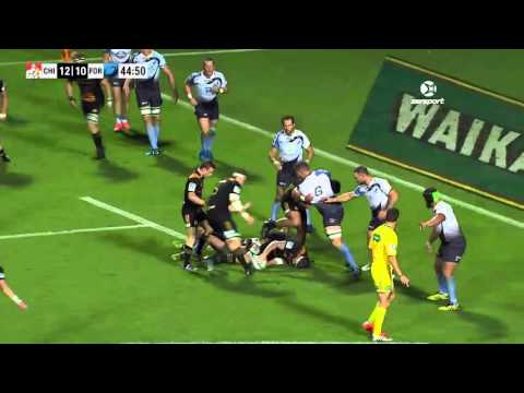 Super Rugby Chiefs V Force Round 5
