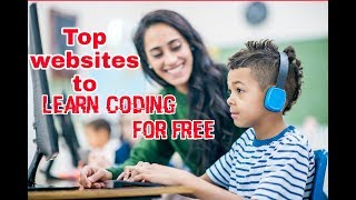 Top Best Websites To Learn Coding Online ✓   TOP 5 Free     Beginners #learncodingfree