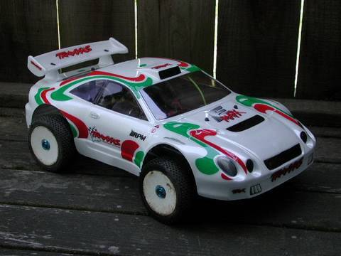 RallyE-Maxx: Brushless RC rally car (E-Maxx conversion)