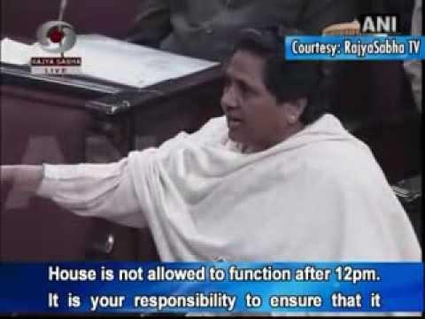 Behan Mayawati questions Hamid Ansari absence
