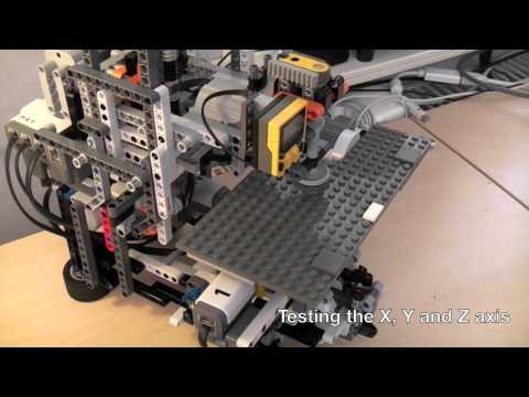 LEGO Mindstorms NXT 2.0 CNC mill
