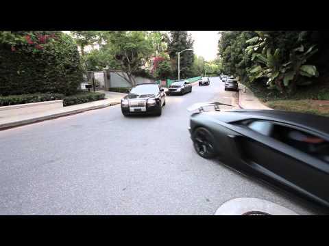 Beverly Hills Rolls Royce , Lamborghini Aventador , Maybach 62, Rolls Ghost