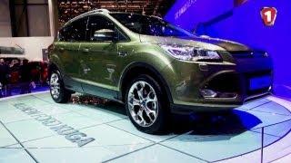 """Ford Kuga 2013. """"Перший дотик"""" в HD."""