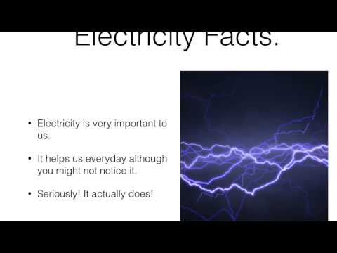 Henry teaches us about electricity