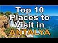Top 10 places to visit in Antalya Turkey thumbnail