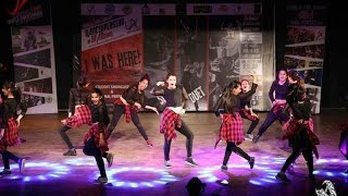 IGDTU at Gargi College's Fest Western Dance Finale Choreographed by Tanya Chamoli