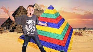 GIANT LEGO Pyramid Fort!