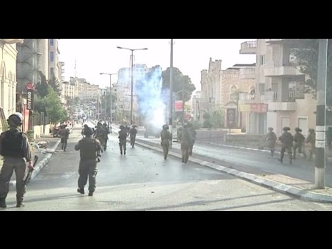 Clashes between IDF & Palestinian protesters in Bethlehem & East Jerusalem, Oct  5, 2015 - Reuters