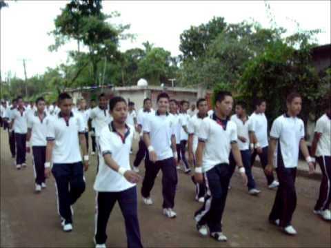 Desfile 20 de Noviembre 2012, Los Naranjos, Tres Valles, Ver.