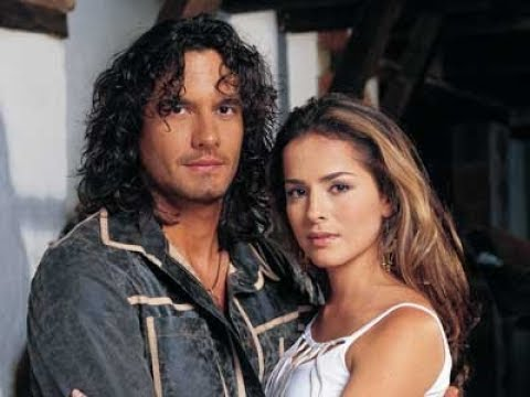 Danna García y Mario Cimarro en sus telenovelas