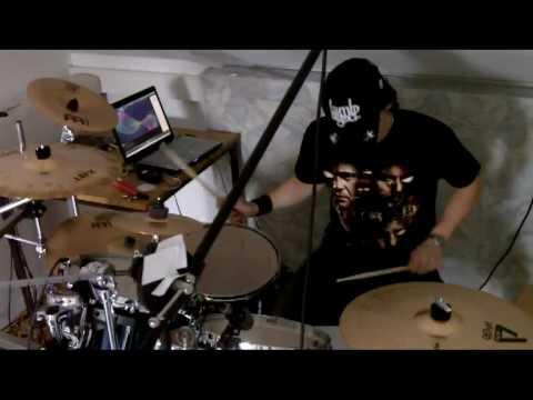 Disturbed - Stricken (Drum Cover) Homestudio-Version