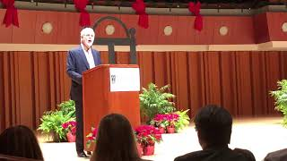 Adam Levin, 2018 Fall Convocation speaker