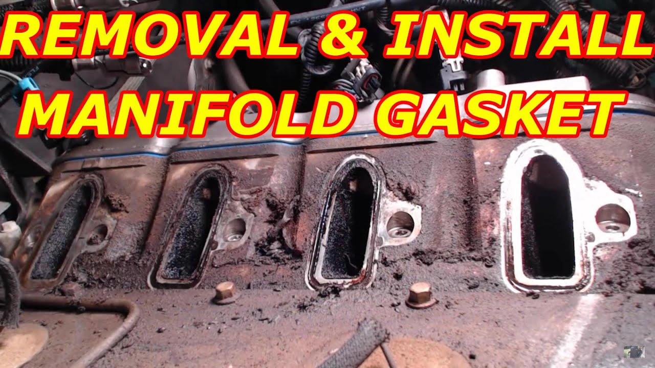 2000 Chevy Tahoe 5.3 Intake Manifold Gasket Replacement ...