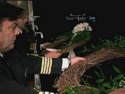 Memorial services held on site of Titanic sinking