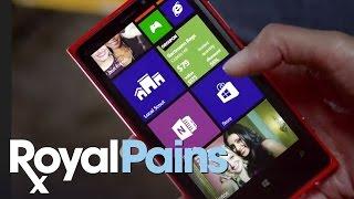 Royal Pains, Season  4 - Reshma Shetty and Her Windows Phone