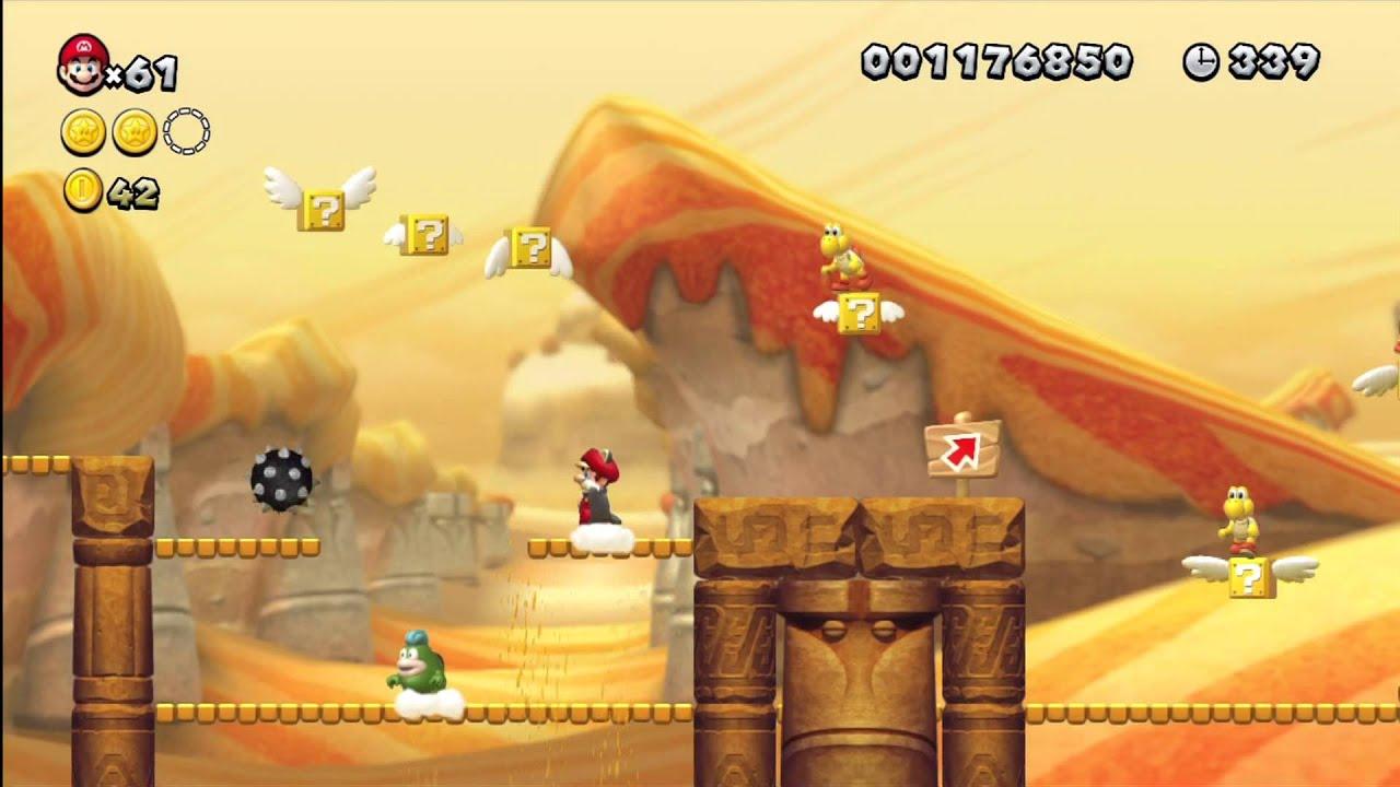 Super Mario U Secret Level Layer Cake Desert