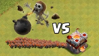 MAUERBRECHER ONLY vs. TROLL BASE! || CLASH OF CLANS || Let
